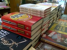 #DailyBookPic Book stack at the Booksmith on Haight, SF