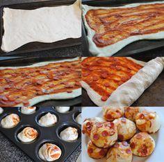 Bolitas de pizza, en 15 minutos y con 5 ingredientes, ¡hoy cena sorpresa! - Recetín