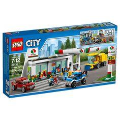 Conheça o sensacional Lego City - Posto de Gasolina,  um conjunto espetacular que vai conquistar a garotada. O Posto é incrivel, nele os carros poderão abastecer, realizar uma vistoria, ir no lava jato, comprar suprimentos para a viagem, entre outras coisas. Além disso, ainda inclui diversas minifiguras para tornar as brincadeiras muito mais animadas. Lego City é um brinquedo impecável que vai proporcionar muitos momentos de alegria e diversão!