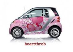 A car wrapped in love!