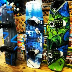 Bunch of water sports equipment just came in,  come check it out.