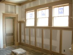 craftsman style wainscoting - Google Search | Country Style Living ...