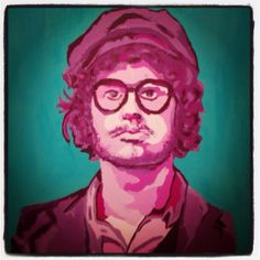 Omar Rodriguez Lopez Guitarrista de The Mars Volta. POP ART