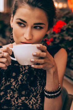 fashion photoshoot cafe olesyavas cup