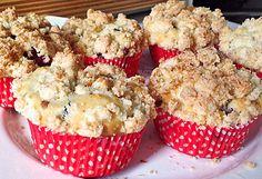 Kirsch - Muffins mit Kokosstreusel (Rezept mit Bild) | Chefkoch.de