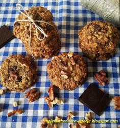Moje                                                                       Kuchenne Rewelacje  : Ciasteczka owsiane bez cukru