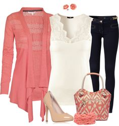 """""""Blush & Little Lace"""" by angiejane on Polyvore"""