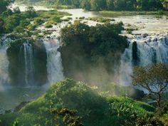 Cascate del Nilo blu, Etiopia