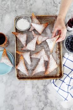 Fried Blueberry Hand Pies | Joy the Baker