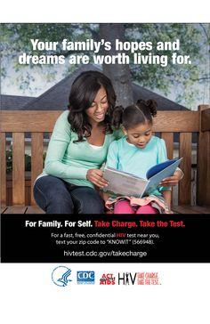 Imitation is the highest form of flattery. Be the woman you want her to be.  Take the first step.  For #family. For #self.  #TakeChargeandTest  http://1.usa.gov/1jfzKsq #HIV #Health