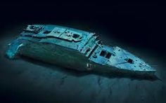 Risultati immagini per il titanic relitto
