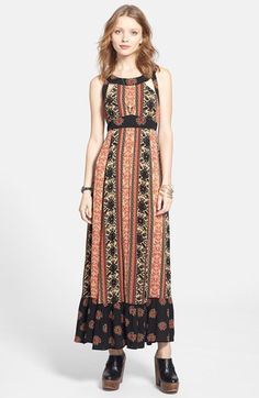 Free People 'You Made My Day' Cutout Maxi Dress   Nordstrom