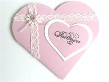 Bryllupsinvitasjoner - hvordan lage invitasjoner til bryllup selv. Baby Cards, Holidays And Events, Christening, Babyshower, Place Cards, Scrap, Birthday Parties, Creative, Party
