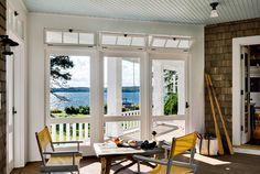Coastal sunroom Ideas #sunroom