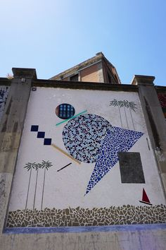 """Antonyo Marest. Proyecto """"Muros"""".#ArteTabacalera Promoción del Arte #ArteUrbano #StreetArt #Madrid Arterecord 2016 https://twitter.com/arterecord"""