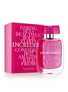 Incredible by Victoria's Secret Eau de Parfum #VictoriasSecret http://www.victoriassecret.com/beauty/fragrance/eau-de-parfum-incredible-by-victorias-secret?ProductID=5443=OLS?cm_mmc=pinterest-_-product-_-x-_-x