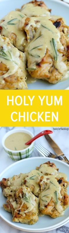 Holy Yum Chicken from www.tablefortwoblog.com