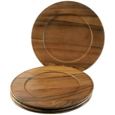 Callaway Acacia Charger Plate (Set of 4)