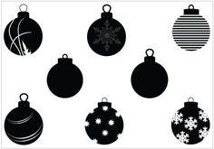 Christmas Ornament Vector Graphics