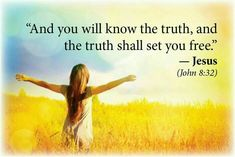 Law Attraction, Spiritual Health, Know The Truth, Set You Free, Inner Peace, Personal Development, Wise Words, Bible Verses, Sunshine
