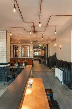 Cafe De Ebeling, Amsterdam, 2013 - Framework Studio
