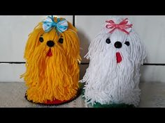 """Receive terrific tips on """"shih tzus"""". They are readily available for you on our website. Christmas Crafts For Gifts, Craft Gifts, Christmas Ornaments, Pom Pom Crafts, Yarn Crafts, Diy Home Crafts, Crafts For Kids, Yarn Animals, Diy Ribbon Flowers"""