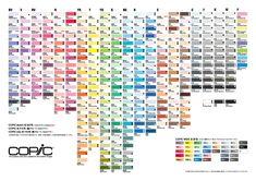 Copic Marker España: Cartas de Color