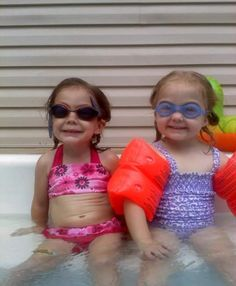 Little Girl Swimsuits, Bikinis, Swimwear, Little Girls, Button, Sexy, Funny, Style, Fashion