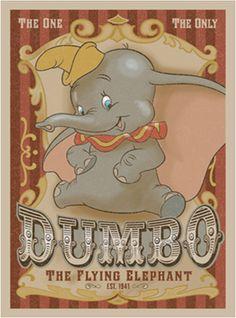 Darren Wilson ~ Now Appearing ~ Dumbo's Circus