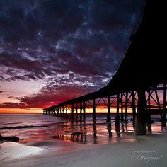 pier @ sunset