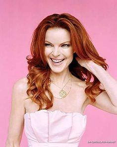 Marcia Cross Beautiful Blue Eyes, Beautiful Redhead, Stunningly Beautiful, Gorgeous Women, Bree Van De Kamp, Marcia Cross, Desperate Housewives, Celebs, Celebrities