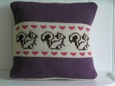 Vintage Rose - Knitted Cushions Boutique