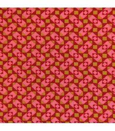 Coton enduit Granit tangerine