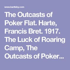 outcasts of poker flat bret - 236×236