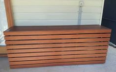 timber cover for air conditioner - Google Search