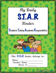Student S.T.A.R Binders