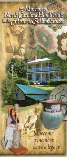 Shelton House & the Museum of North Carolina Handicrafts. Take a virtual tour of this museum by clicking on the photo Leaving A Legacy, Virtual Tour, Lancaster, Vacation Spots, Lodges, Handicraft, North Carolina, How To Become, To Go