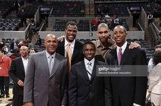 The starting lineup that brought San Antonio it's first taste of the gold in 1999 and started it all Basketball Photos, Basketball Players, Manu Ginobili, David Robinson, Wnba, Nba Champions, Home Team, San Antonio Spurs, World Of Sports