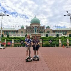 Explore Putrajaya the fun way - for 2.5 hours you get to ride a segwey on a 10km sightseeing route with many photo stops along the way.   Come #meetloka at #LokaLocal