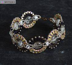 Miyuki Half Tila bead inspiration