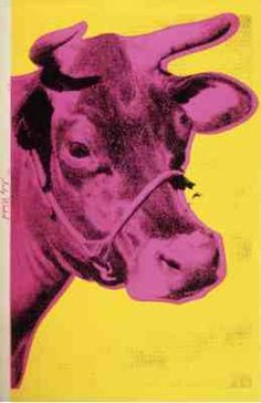 Andy Warhol's Cow, 1966