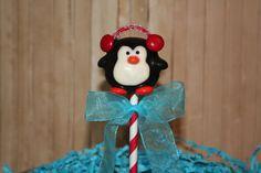 Receive By Christmas!!!! Mom's Killer Cake Pops Winter Wonderland  Penguin Penguins Cake Pops There's Still Time To Order For Christmas!!