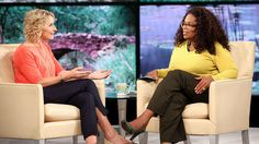 """Oprah sits down with bestselling author Elizabeth Gilbert (""""Eat, Pray, Love"""") for the first episode in a two-part conversation about what it means to find your calling and fulfill your life's purpose. Liz Gilbert, Elizabeth Gilbert, Find Your Calling, Super Soul Sunday, Oprah Winfrey Network, Hero's Journey, Marry You, Ted Talks, Cool Words"""