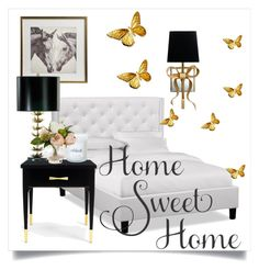 """""""Bedroom"""" by shrougsd on Polyvore featuring interior, interiors, interior design, home, home decor, interior decorating, Kate Spade, Cyan Design, Pier 1 Imports and bedroom"""