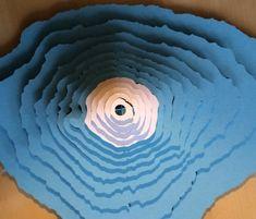 Mt. Fuji 3D Paper Model