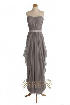 A-line Sweetheart Floor Length Bridesmaid Dresses AM283
