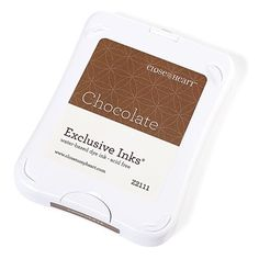 Close To My Heart Z2111 Chocolate Exclusive Inks™ Stamp Pad - new packaging; color not retiring on July 31, 2016