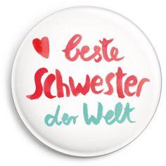 Print *Beste Schwester* #schwester #sister #magnet