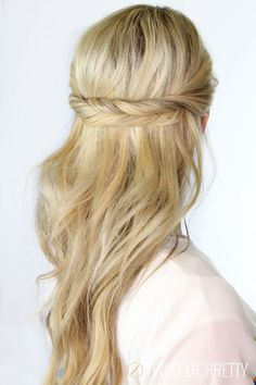 Love this simple, gorgeous braid.: