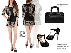 Outfit idea: Lady Look! Vestito: http://www.mecshopping.it/shop/donna/abiti-vestiti/vestito-21473.html Borsa a mano: http://www.mecshopping.it/shop/borse/donna/borse-a-mano/borsa-a-mano-19758.html Décolleté: http://www.mecshopping.it/shop/scarpe/scarpe-donna/decollete/decollete-9893.html